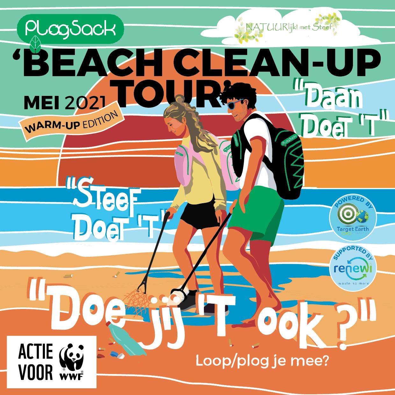 Beach clean up tour2021